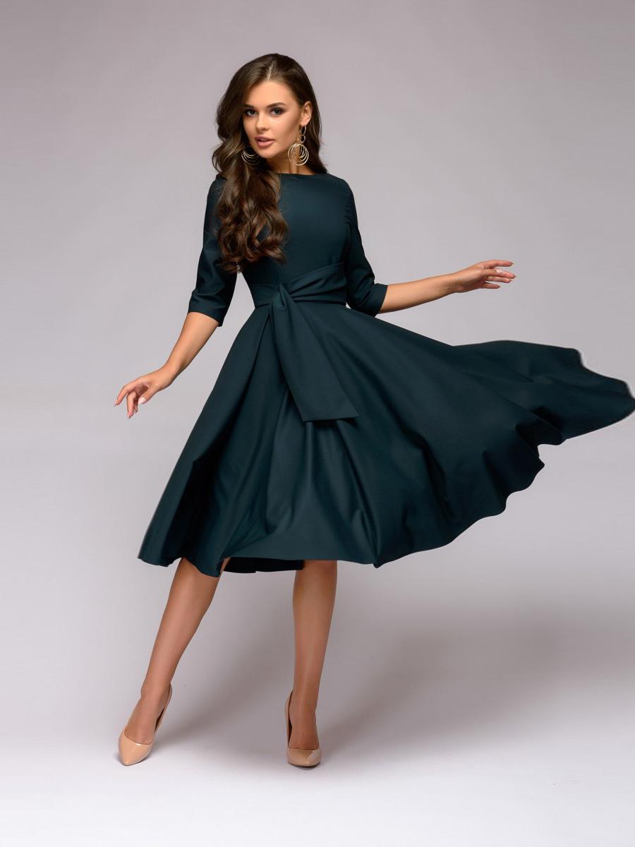 Купить Платье Длинной Ниже Колена